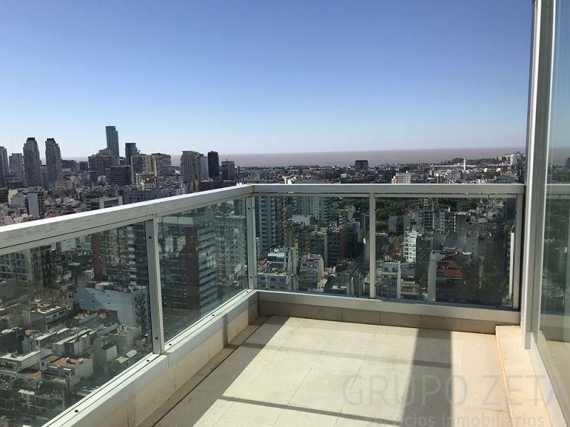 torre deco 4 ambientes cochera piso alto vista rio