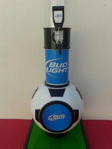 torre dispensadora de cerveza bud light