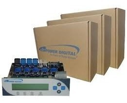 torre duplicadora grabadora controladora para quemar cd/dvd