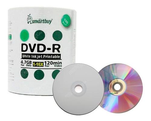 torre dvd-r imprimible smartbuy x100unidades secado rápido