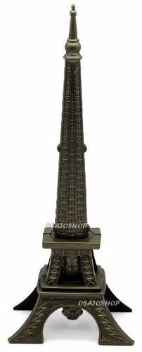 torre eiffel adaga faca espada punhal c/suporte decorativa p