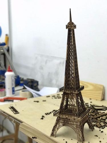 torre eiffel de 64 cm de altura