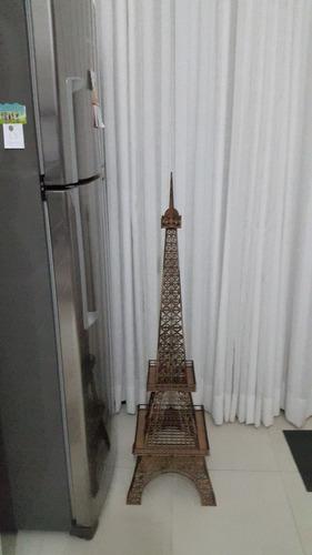 torre eiffel em mdf 1 metro altura para montar