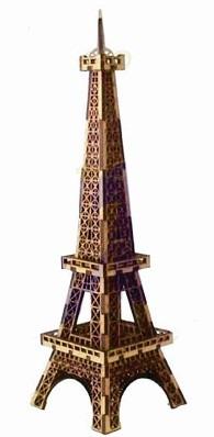 torre eiffel em mdf 3mm, 30cm altura