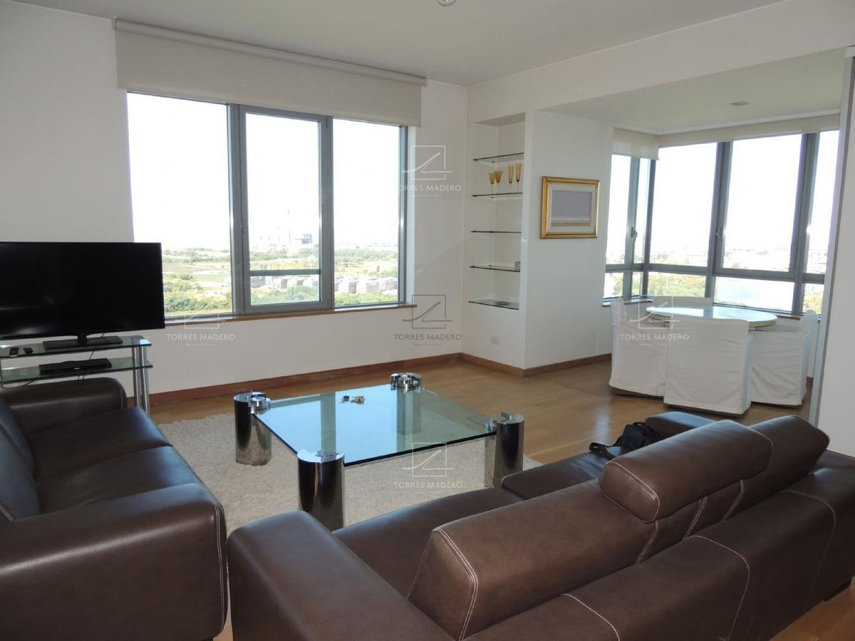 torre el faro, 2 dormitorios en suite todo amoblado, con cochera !!
