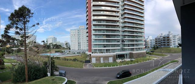 torre esmeralda, unidad esquinera, 2 dormitorios y 2 baños