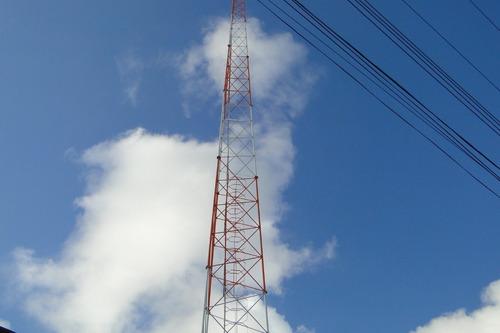 torre estaiada telecomunicaçoes projeto em pdf