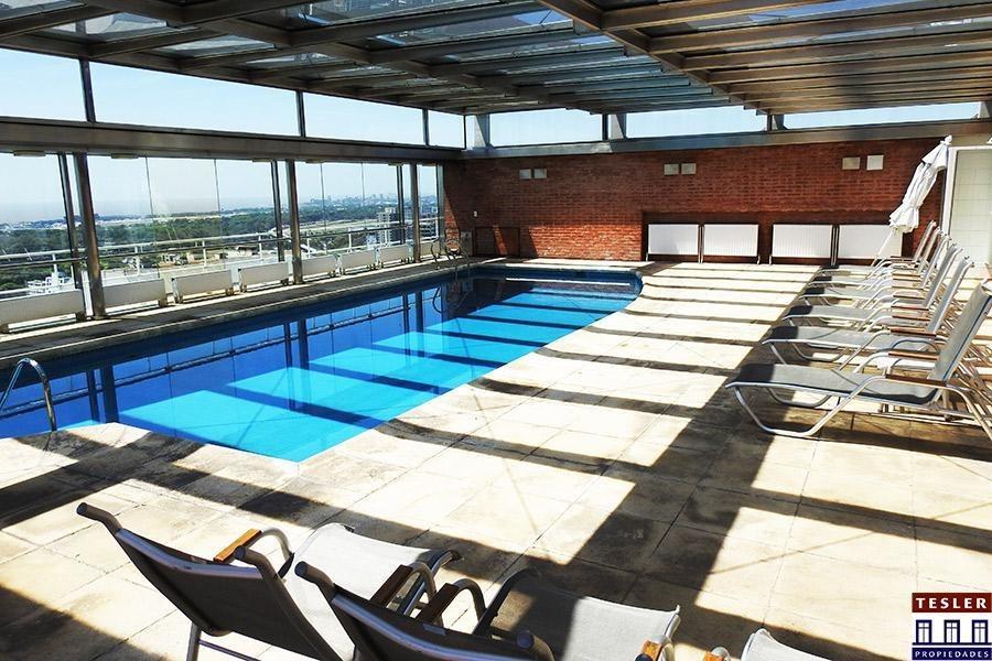 torre forum belgrano - piso alto con excelente luz y vista - full amenities