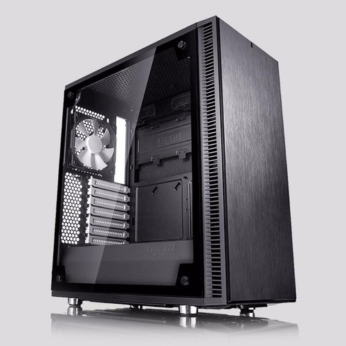 torre - fractal design define c tg - chasis atx - exclusivo