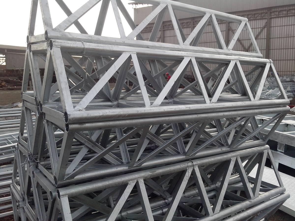 torre galvanizados ventada y autosoportada