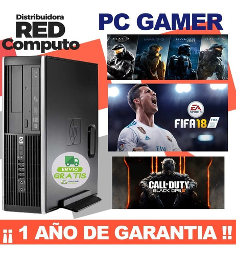 torre gamer-core i5 3470-ram8gb-1tera-wiifi-grafica2gb-