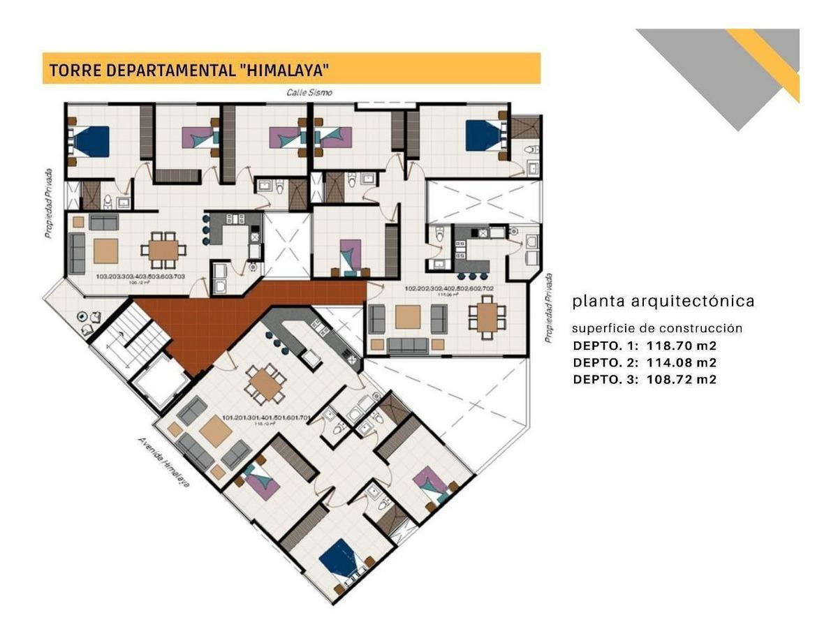 torre himalaya: departamentos en venta lomas | tipo 1