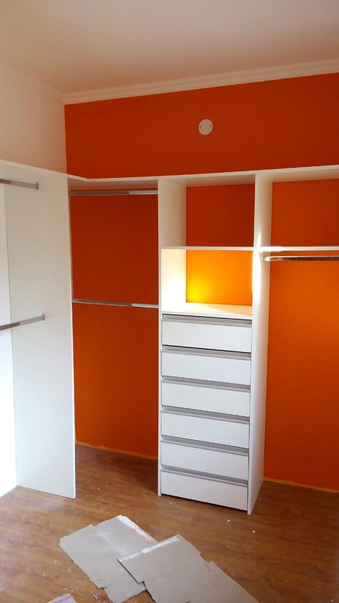 Torre Modulo Para Interiores Placardvestidores Blanco 820000