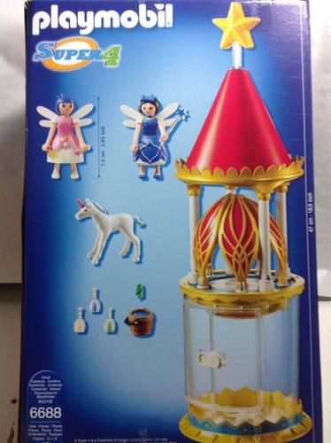 torre musical playmobil super 4 6688 envio gratis todo pais
