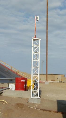 torre para todo tipo de antenas de radio enlace y wifi