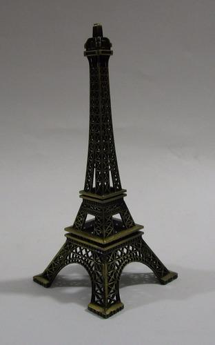 torre paris eiffel metalica coleccion 18 cm alto decoracion