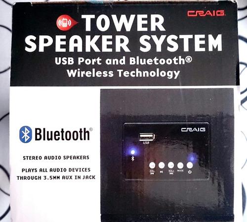 torre parlante sistema de altavoces