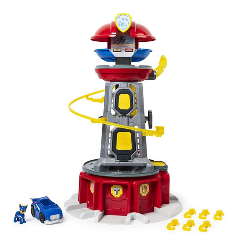 torre paw patrol mighty patrulla canina luces sonido oferta