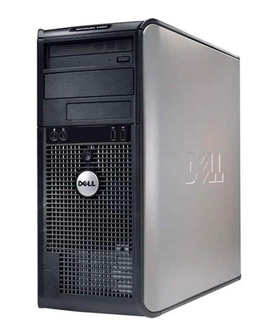 torre pc computadora core 2 duo 2gb 160gb dvd c/perifericos