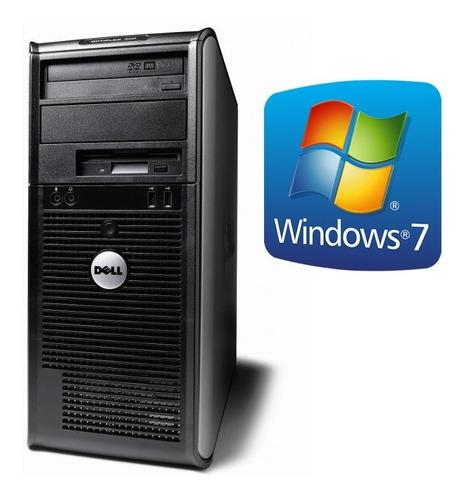 torre pc computadora dual core 2gb dvd cd windows importada