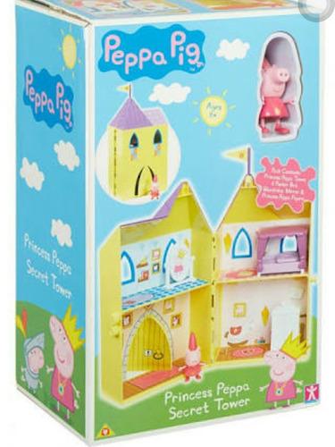 torre secreta de peppa pig