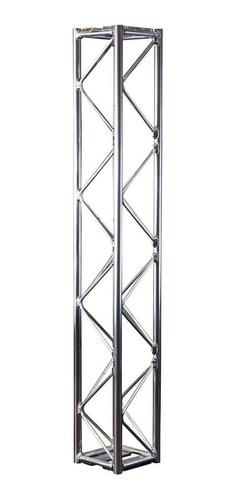 torre treliçada 1m em alumínio p/ montagens al15 auratec