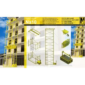 Torres Elevadoras Tubular Por Modulos Construccion Obras