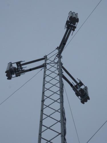 torres galvanizadas de 25x25 , 30x30 bajo la norma astm-123a