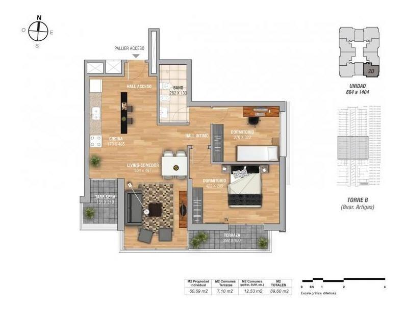 torres nuevocentro  , nuevos alquileres  tres  dormitorios
