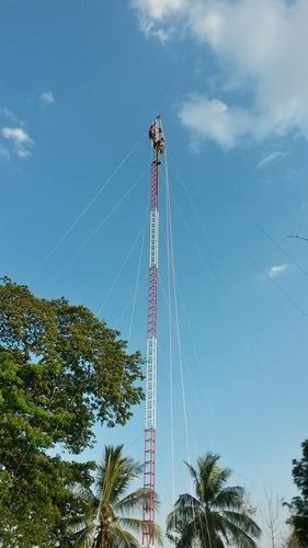 torres ventadas para wifi, antenas etc (3 mts)