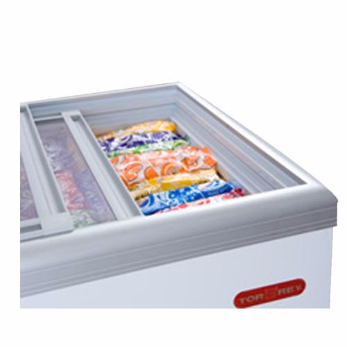 torrey chc-110c congelador horizontal tapa cristal xxcon