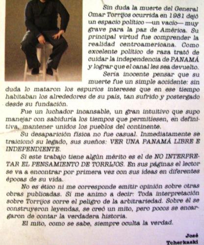 torrijos por torrijos jose tcherkaski editorial plus ultra