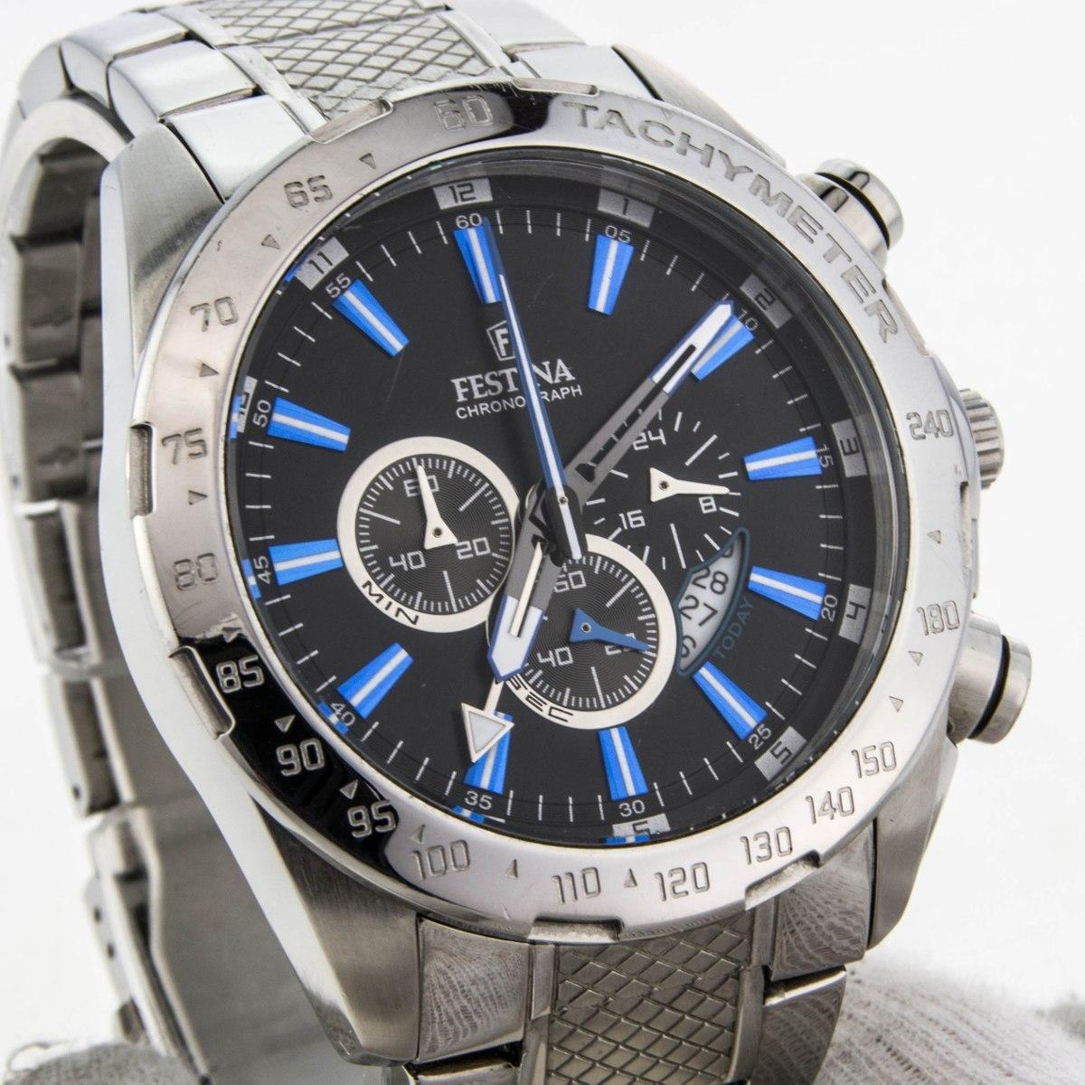 15ffde82be6 torro! relógio festina chronograph dual time gmt- f16488 3. Carregando zoom.