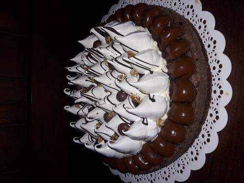 torta brownie artesanal