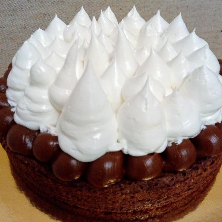 Torta Brownie Chocolate Belga Dulce De Leche Merengue 75000 En