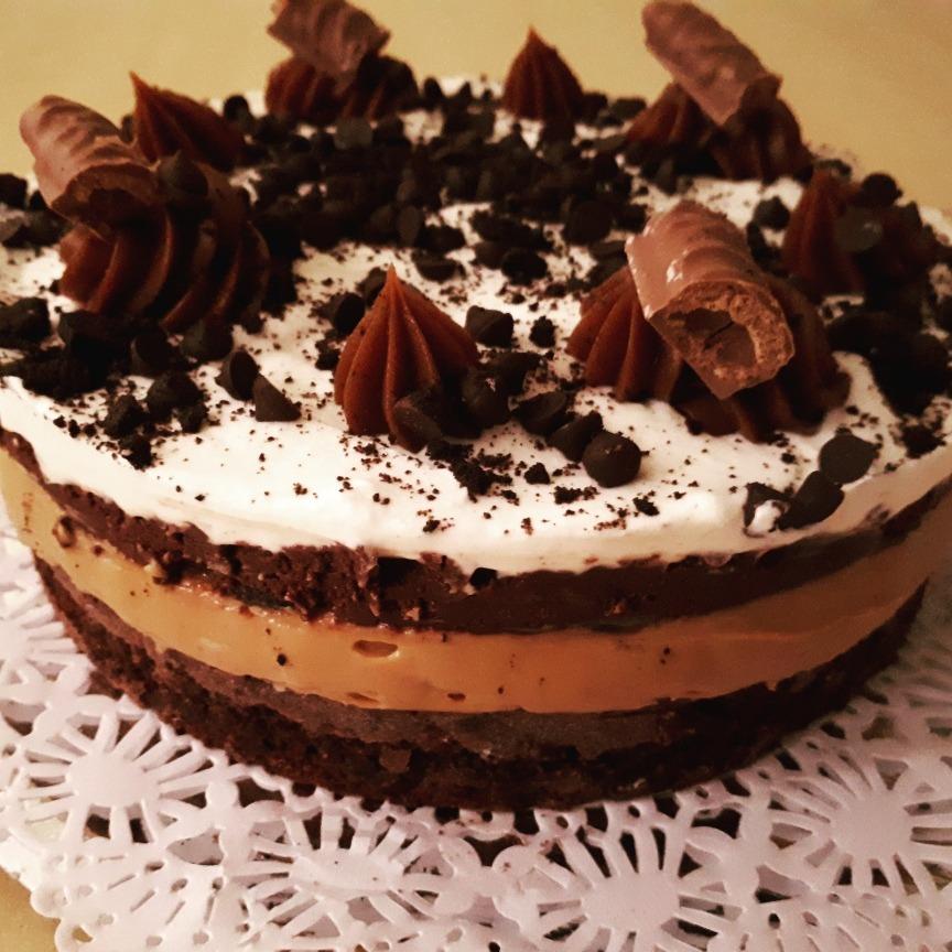 Torta Brownie Triple Sabor Con Nutella 55000 En Mercado Libre