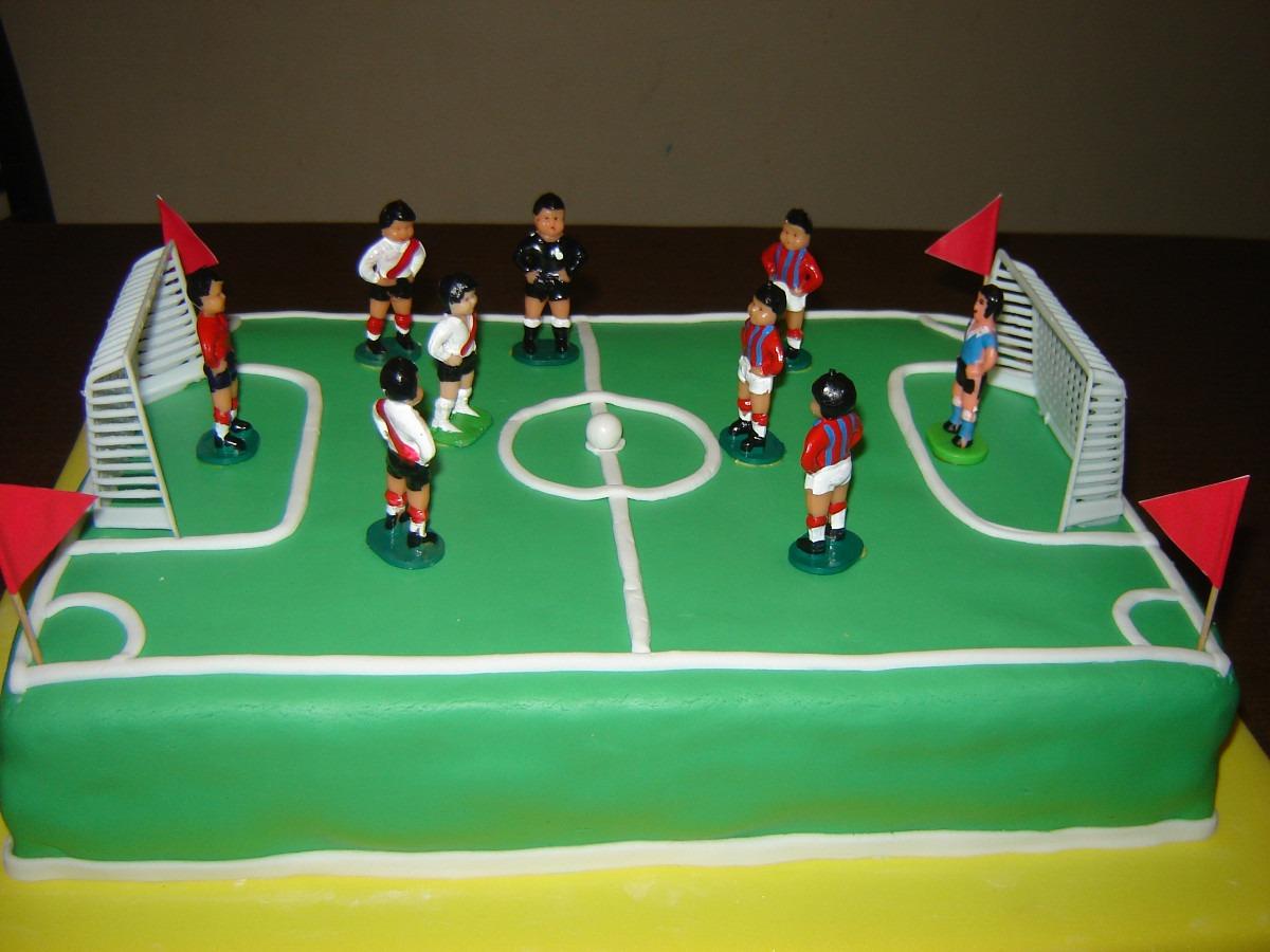 Torta Cancha De Futbol Tortas Decoradas Infantilesadultos