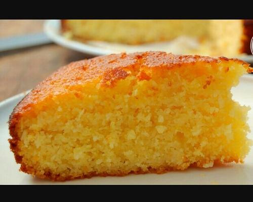 torta casera de naranja