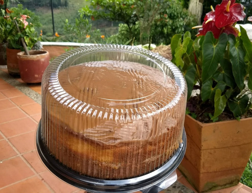 torta clasica tipo santa ana con arequipe 20 porciones 1lb