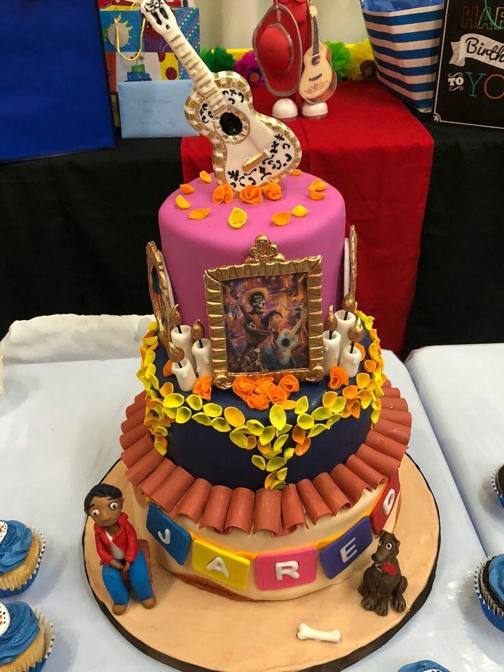 Torta Coco Disney Cupcakes Pi 241 Ata Fiesta Tematica Ocasion