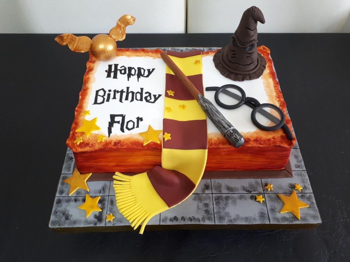 torta cumpleaños harry potter decoradas tematicas caseras!! - $ 403