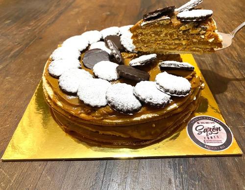 torta de alfajor zambito 5 capas especial. 67 soles