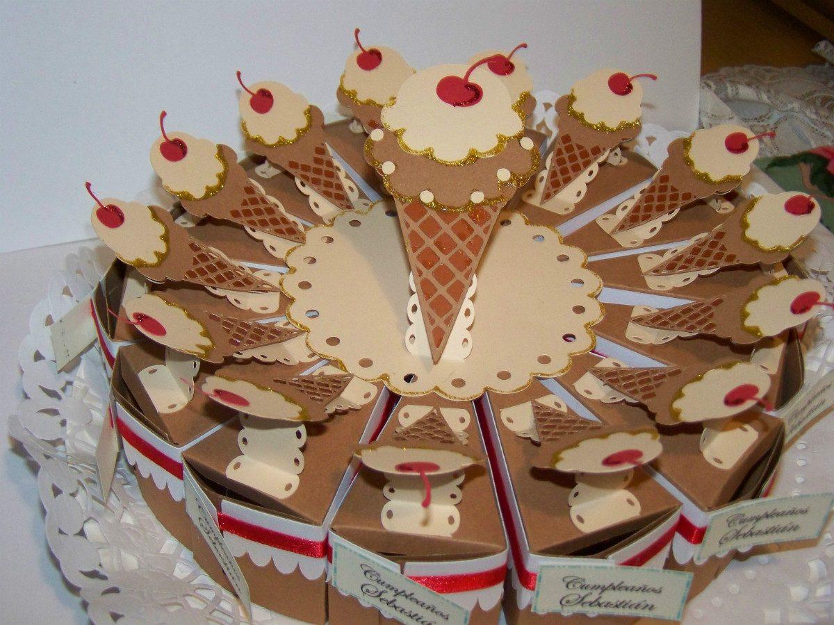 Torta de cajitas sorpresas para cumplea os cupcakes 12 - Ideas originales para 40 cumpleanos ...
