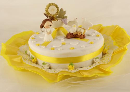 torta de comunion precio x kilo.candylaraeventos