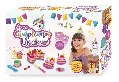 torta de cumpleaños musical unicornio grande bilingue tv edu