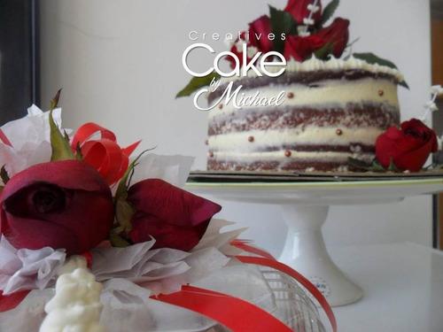 torta de redvelvert @creatives_cake