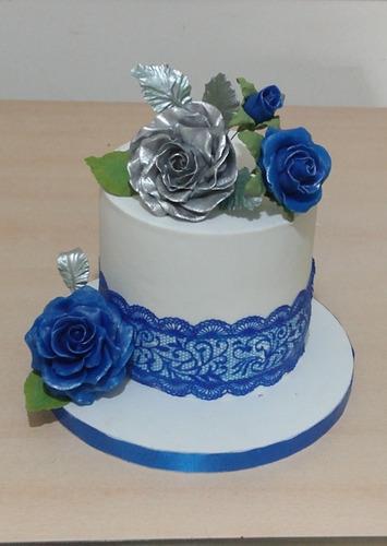 torta decorada bordes perfectos