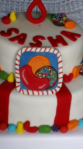 torta decorada candy crush