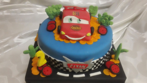 torta decorada cars