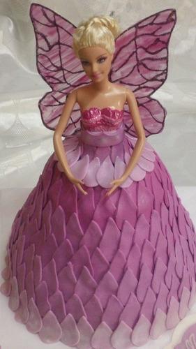 torta decorada de barbie